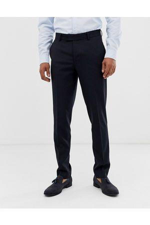 ASOS Skinny smarte bukser i navy-Marineblå