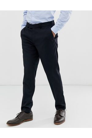 ASOS Navy-farvede habitbukser i skinny pasform fra -Marineblå