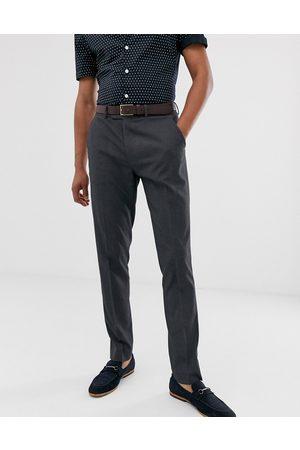 ASOS Kulfarvede smarte skinny bukser fra -Grå