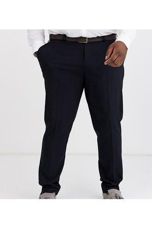 ASOS Navy skinny habitbukser fra Plus-Marineblå
