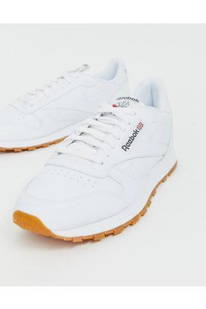 Reebok Hvide sneakers i skind fra Classic