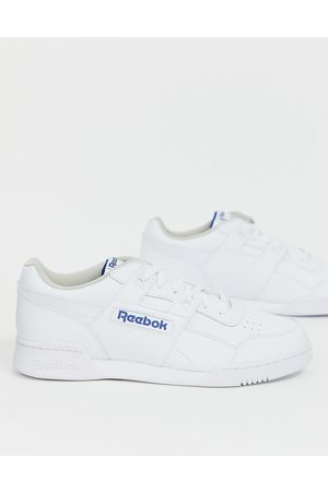 Reebok Hvide Workout Plus sneakers fra
