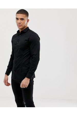 Jack & Jones Premium elegant skjorte i supersmal pasform med stræk fra