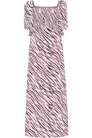 Baum und Pferdgarten Exclusive to Mytheresa – Atena tiger-print maxi dress