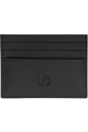 Giorgio Armani Logo-embossed card case
