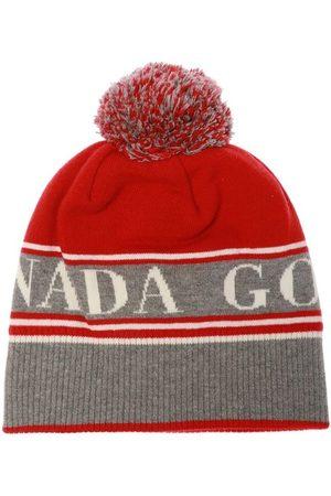 Canada Goose Logo-broderede hat