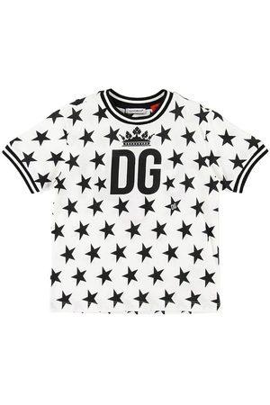 Dolce & Gabbana T-shirt - m. Stjerner