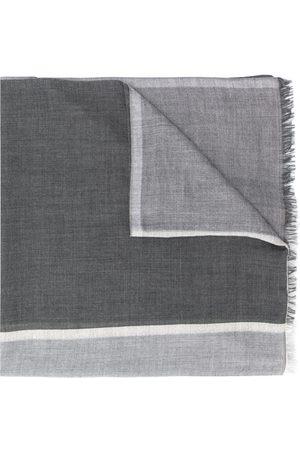 Brunello Cucinelli Strikket tørklæde med colourblocking