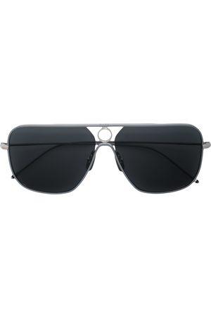 Thom Browne Eyewear Tonede aviator-solbriller