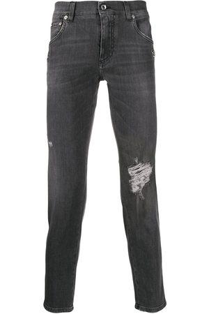 Dolce & Gabbana Mænd Skinny - Distressed skinny jeans