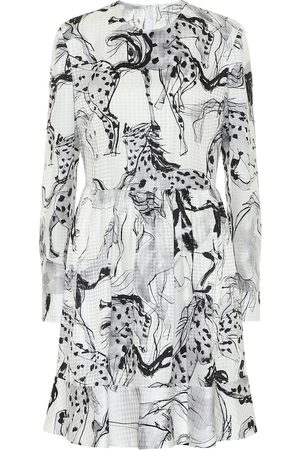 Stella McCartney Kalyn printed silk-jacquard dress