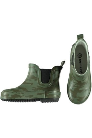 Name it Boots camo print rubber