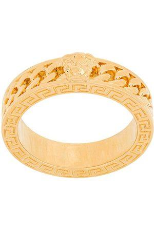 VERSACE Mænd Ringe - Chained medusa ring