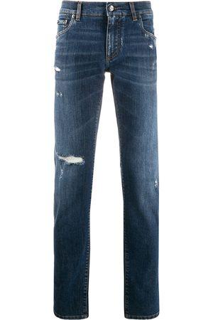 Dolce & Gabbana Distressed slim jeans