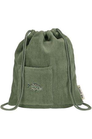 Soft Gallery Tasker - Gymnastikpose - Oil Green m. Fisk