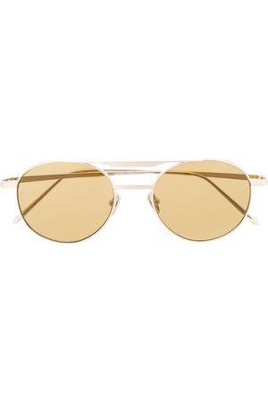 Linda Farrow Solbriller - Lou solbriller med ovalt stel