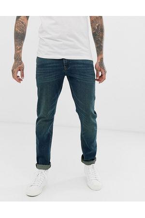 ASOS Slim-jeans med stræk i vintage dark wash