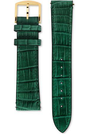 Gucci Ure - Grip alligator watch strap, 38mm