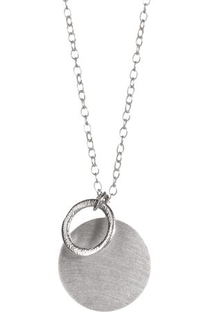 Pernille Corydon Coin & Circle Necklace 90 Cm Accessories Jewellery Necklaces Dainty Necklaces