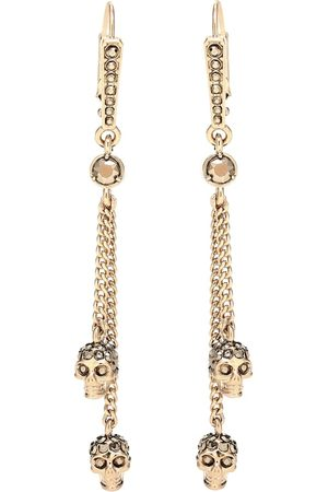 Alexander McQueen Skull embellished earrings