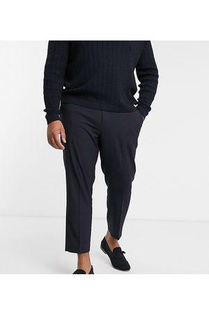 ASOS Elegante navy-blå skinny bukser fra Plus-Marineblå