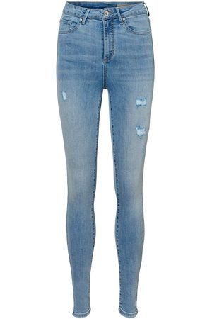 Vero Moda Vmsophia High Waist Skinny Fit Jeans Kvinder Blå