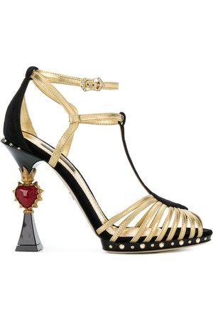 Dolce & Gabbana Bette sandaler med skulptureret hæl