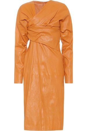 Bottega Veneta Kvinder Midikjoler - Leather midi dress