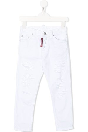Dsquared2 Distressed-effect straight jeans