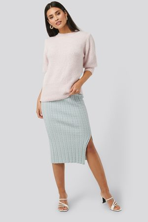 NA-KD Knitted Pencil Skirt