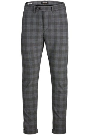 Jack & Jones Marco Check Chinos Mænd White