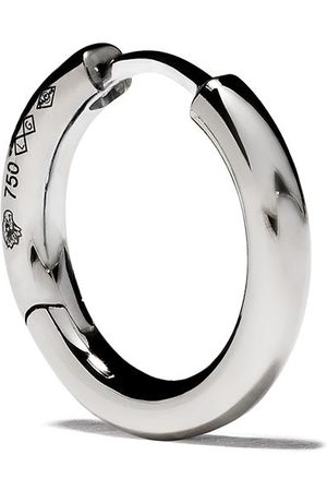 Le Gramme 18kt polished white gold 21/10G Bangle earring