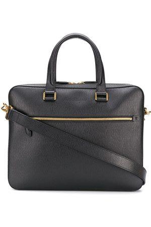 Salvatore Ferragamo Business-taske med præget logo