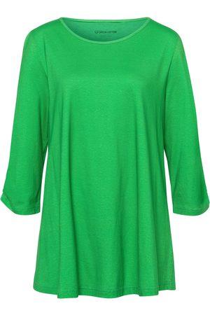 Green Cotton Lang bluse 3/4-ærmer Fra