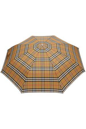 Burberry Foldbar paraply med tern
