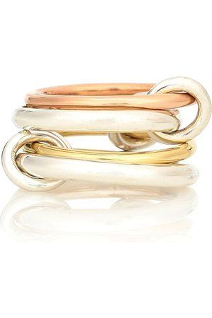 SPINELLI KILCOLLIN Kvinder Ringe - Hyacinth 18kt gold and sterling silver linked rings