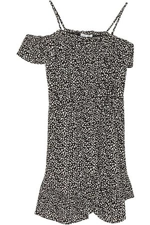 Designers Remix Bluser - Off-shoulder - Eliza - Animal Print