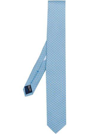 Salvatore Ferragamo Mænd Slips - Gancio-mønstret slips