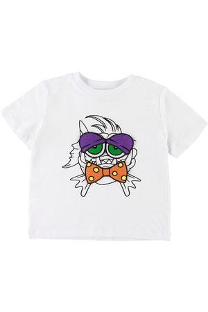 Stella McCartney Kortærmede - T-shirt - m. Fisk/Patches