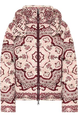 Moncler Printed down jacket