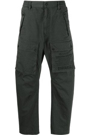 Dsquared2 Printed logo cargo trousers