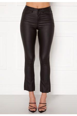 Object Kvinder Leggings - Belle Coated HW legging Black 42