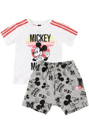 adidas Shortssæt - Mickey Mouse - /Gråmeleret