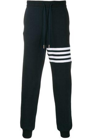 Thom Browne Marineblå 4-Bar Stripe-joggingbukser