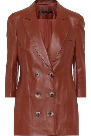 Zeynep Arcay Kvinder Skindjakker - Leather blazer