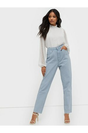 Missguided Riot High Waisted Plain Mom Jeans Straight fit