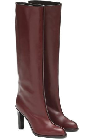 The Row Wide Shaft leather knee-high boots