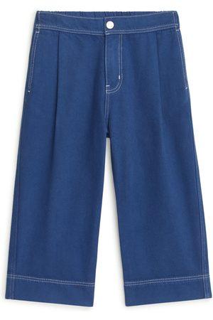 ARKET Mænd Kassebukser - Wide Cotton Lyocell Trousers