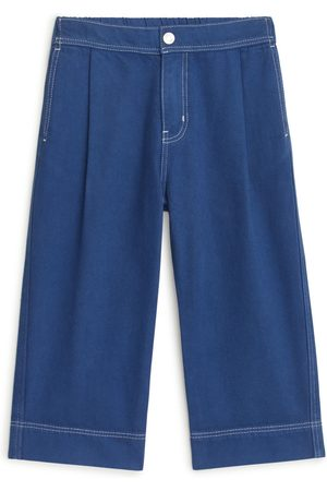 ARKET Wide Cotton Lyocell Trousers