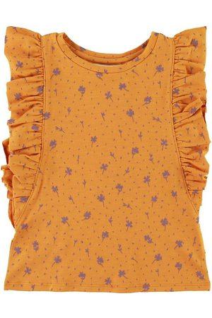 Soft Gallery T-shirt - Aylin - Clover - Sunflower